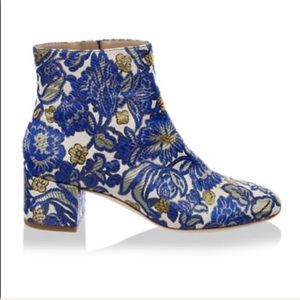 Tory Burch Fashion style silk boots 🌺🎁❤️💖